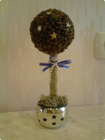 Новогоднее кофейное дерево
