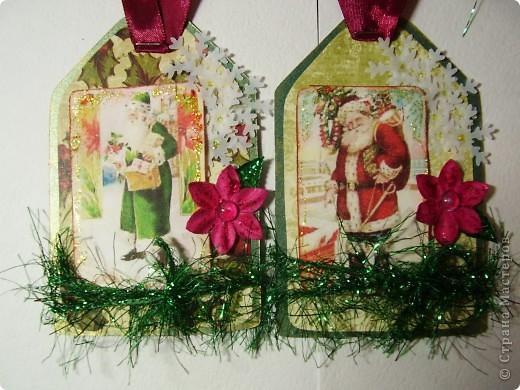 Еще одна партия новогодних открыток. Сразу скажу, еще не последняя :). И так, первая  - нежно-любовная для одного очень-очень хорошего человека, у которого день рождения на Рождество.  фото 6