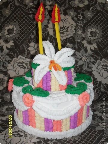 Мой праздничный торт