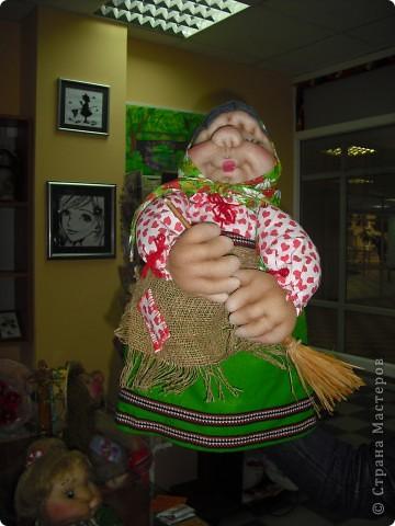 Шаржевая портретная кукла  выполнена в технике скульптурный текстиль фото 4