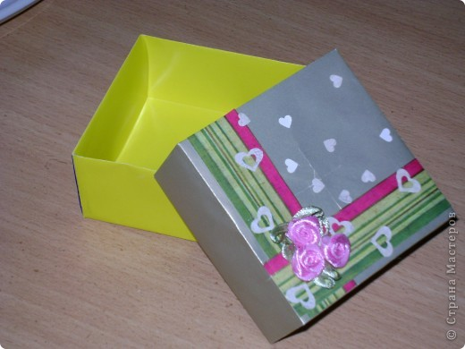 Сувенирная коробочка