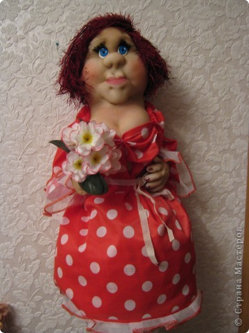 Это кукла-пакетница фото 1