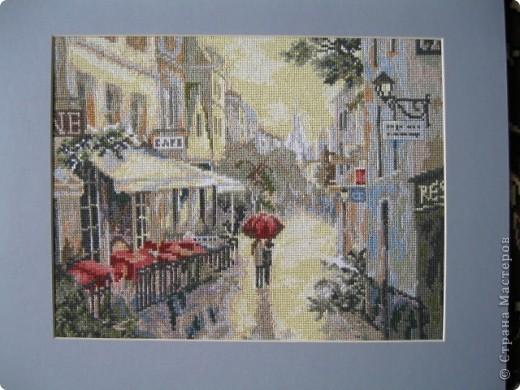 Париж в стиле импрессионизм
