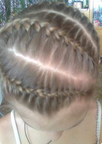Вот решила попробовать сделать МК. И так... Делим волосы на голове на 5 частей и завязываем резнками, чтобы не мешали. фото 20