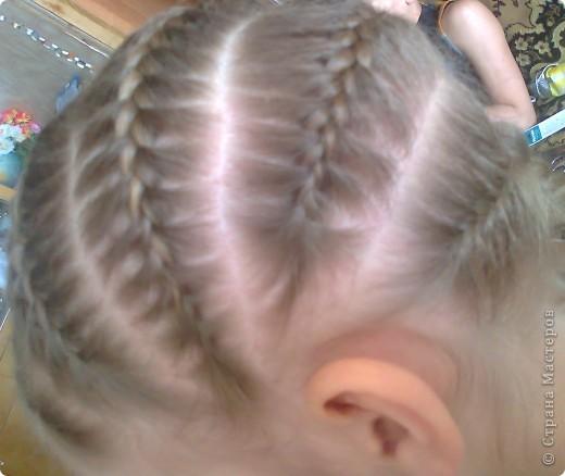 Вот решила попробовать сделать МК. И так... Делим волосы на голове на 5 частей и завязываем резнками, чтобы не мешали. фото 21