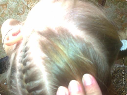 Вот решила попробовать сделать МК. И так... Делим волосы на голове на 5 частей и завязываем резнками, чтобы не мешали. фото 8