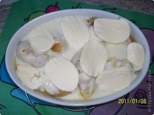 Conchiglioni — конкильони (большие фаршированные  ракушки).  фото 5