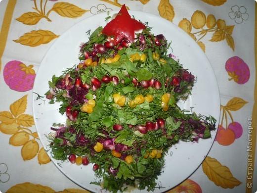 """Салатик """"Дед Мороз"""" больше всего нашему папе понравился.  фото 4"""