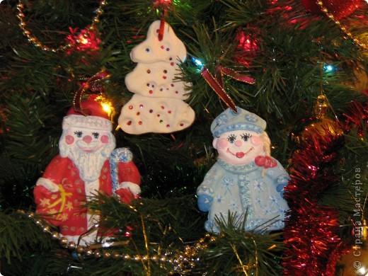 Дед Мороз со Снегуркой фото 2
