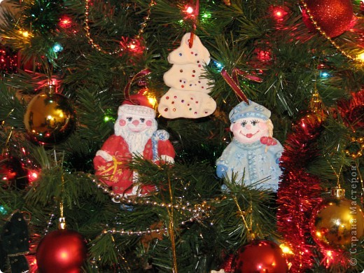 "Лепка - Дед Мороз со Снегуркой "" Поиск мастер классов, поделок своими руками и рукоделия на SearchMasterclass.Net"