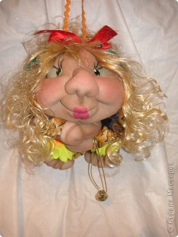 Шаржевая портретная кукла  выполнена в технике скульптурный текстиль фото 8