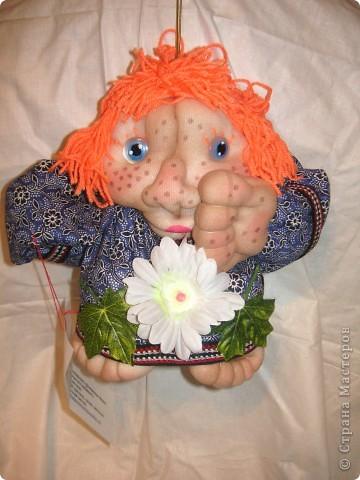 Шаржевая портретная кукла  выполнена в технике скульптурный текстиль фото 9