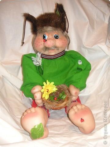 Шаржевая портретная кукла  выполнена в технике скульптурный текстиль фото 10