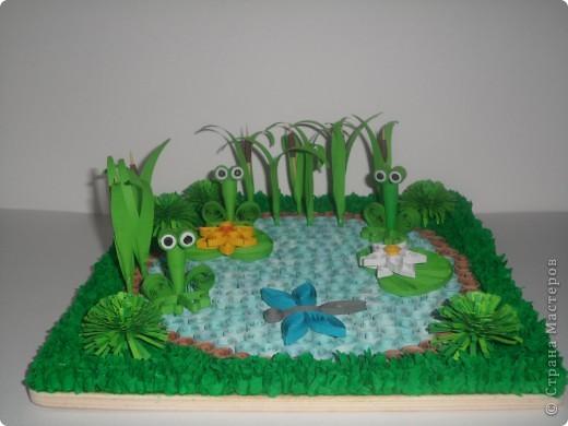 Пруд с лягушками. фото 2