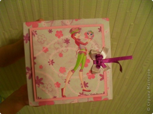 Попросила меня дочка сделать ей коробочку.... А она фанатка Winx, вот я ей и сотворила.. фото 1