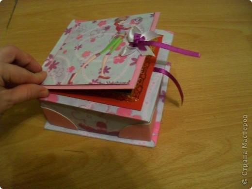 Попросила меня дочка сделать ей коробочку.... А она фанатка Winx, вот я ей и сотворила.. фото 4
