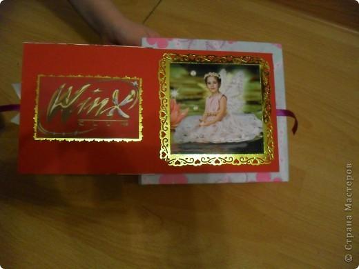 Попросила меня дочка сделать ей коробочку.... А она фанатка Winx, вот я ей и сотворила.. фото 5