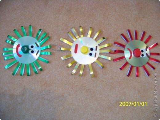 светофор из дисков(повторялочка) фото 1