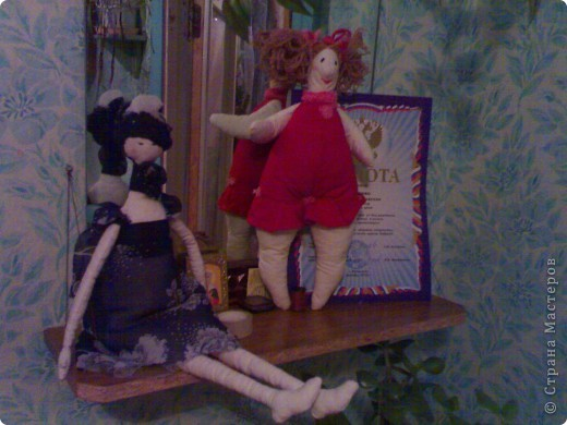 тильда толстушка и балерина фото 1