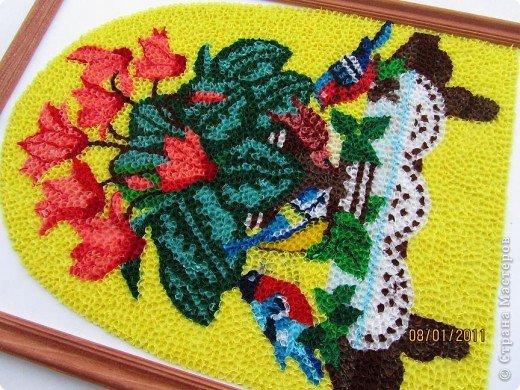 Здравствуйте, уважаемые Мастерицы!!! Сегодня у меня цикламен. Очень люблю этот цветок, дома у меня есть такое растение. Снежная сказка зимы становится не такой грустной когда на подоконнике появляется нежное облако цветов цикламена. фото 8