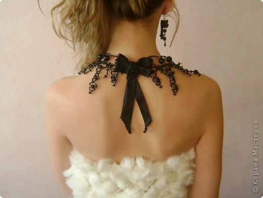 Вот такие симпатичные украшения у меня получаются из бисера))) фото 2