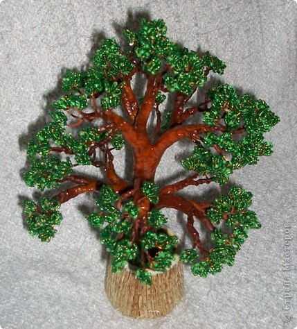 Бисерное дерево. фото 4