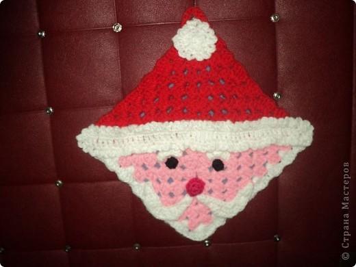 Прихватка Дед Мороз