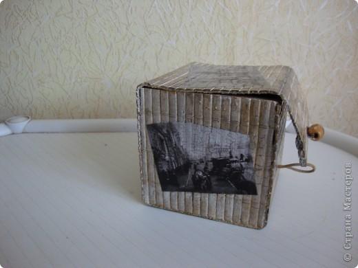 Декупажные карты под старинные фото, кракелюр. фото 4