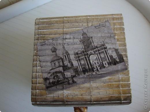 Декупажные карты под старинные фото, кракелюр. фото 1