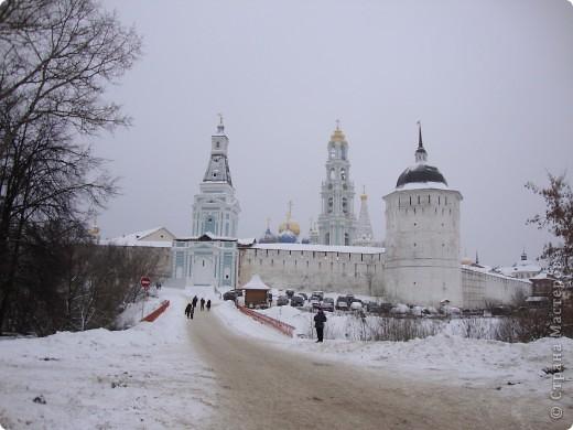9 января посетили Троице-Сергиеву Лавру. Одна из древнейших обителей Подмосковья находится в городе Сергиев Посад. фото 1
