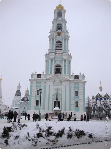 9 января посетили Троице-Сергиеву Лавру. Одна из древнейших обителей Подмосковья находится в городе Сергиев Посад. фото 4