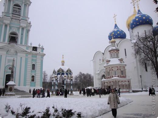9 января посетили Троице-Сергиеву Лавру. Одна из древнейших обителей Подмосковья находится в городе Сергиев Посад. фото 2