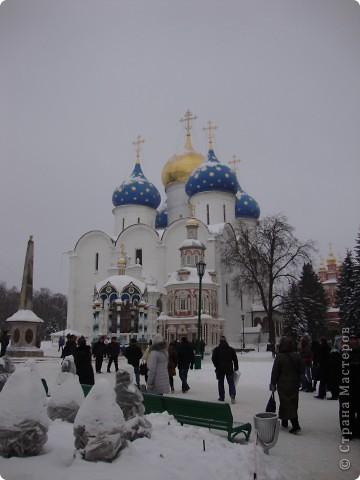 9 января посетили Троице-Сергиеву Лавру. Одна из древнейших обителей Подмосковья находится в городе Сергиев Посад. фото 3