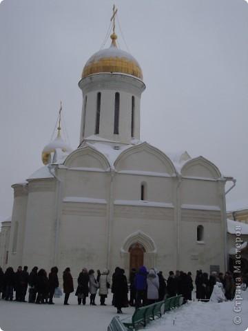 9 января посетили Троице-Сергиеву Лавру. Одна из древнейших обителей Подмосковья находится в городе Сергиев Посад. фото 5