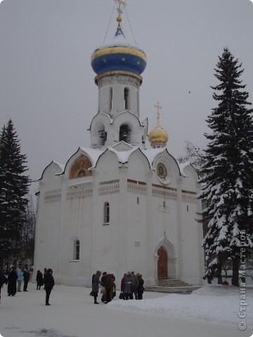 9 января посетили Троице-Сергиеву Лавру. Одна из древнейших обителей Подмосковья находится в городе Сергиев Посад. фото 6