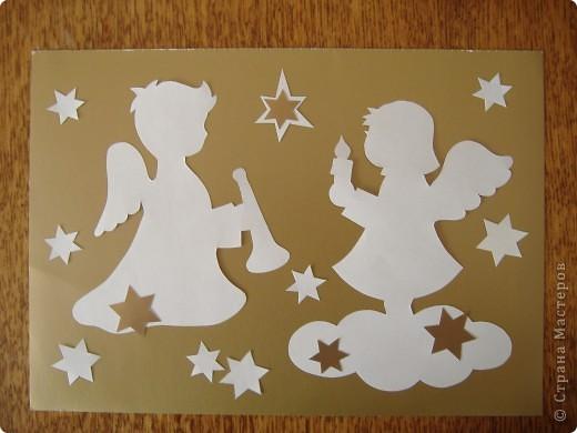 Ангел открытки своими руками