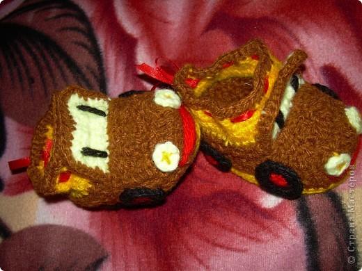 Пинетки-машинки, для будущего водителя:)))) фото 3