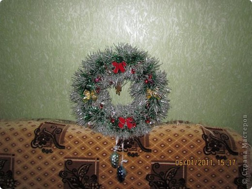 Рождественский венок. фото 3
