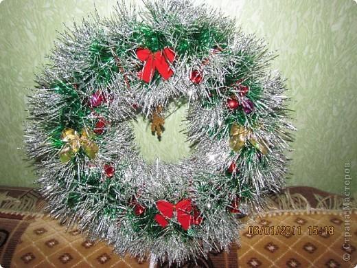 Рождественский венок. фото 2