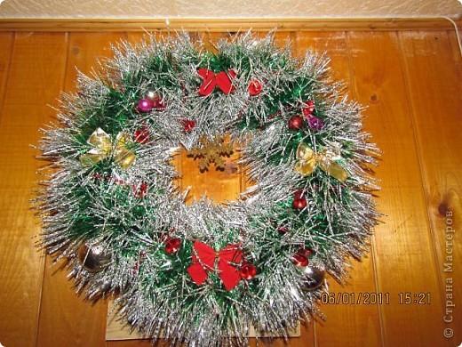Рождественский венок. фото 1