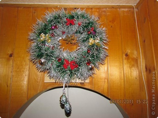 Рождественский венок. фото 4