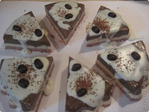 Мыльно-кофейные тортики-скрабики )) фото 1