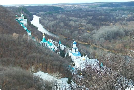 Свято Успенская Святогорская Лавра. фото 10