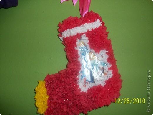 Посмотрите какие чудесные новогодние игрушки, можно сделать методом торцевания на декоративных тыковках! фото 3