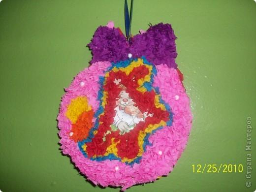 Посмотрите какие чудесные новогодние игрушки, можно сделать методом торцевания на декоративных тыковках! фото 4