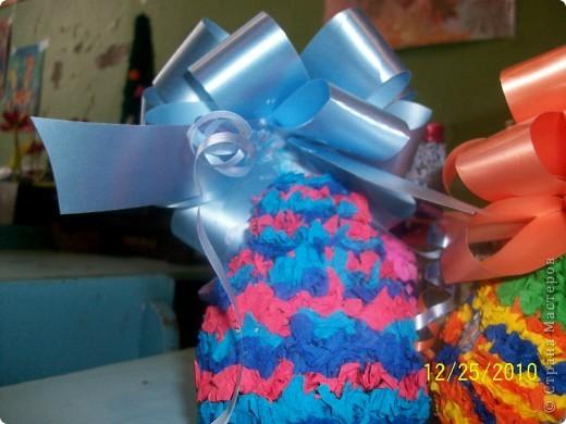 Посмотрите какие чудесные новогодние игрушки, можно сделать методом торцевания на декоративных тыковках! фото 2