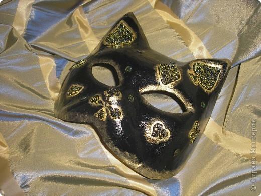 маска кошка фото 2