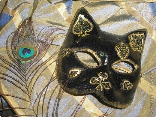 """Роспись - маска кошка """" Поиск мастер классов, поделок своими руками и рукоделия на SearchMasterclass.Net"""