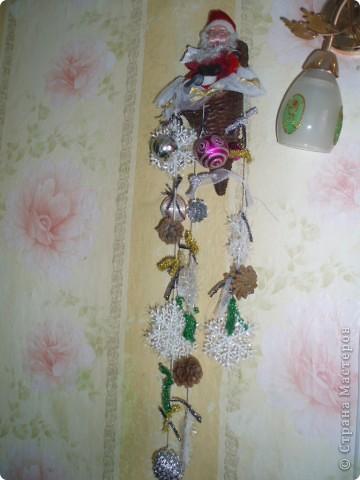 вот такую подвеску я сделала на кухню в Рождество:))) фото 1