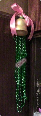 Наконец-то покажу наши Новогодне-Рождественские украшательства.  Это собственно мой Веночек. Основа - настоящая виноградная лоза, заготовленная осенью.  фото 6